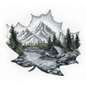 Наедине с природой Набор для вышивания Овен 1296