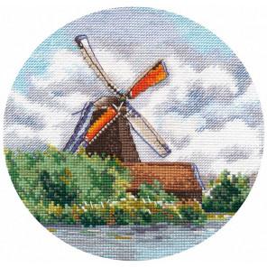Миниатюра. Мельница Набор для вышивания Овен 1297