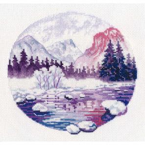Сиреневые сны Набор для вышивания Овен 1299