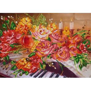 Соната Ткань с рисунком для вышивания бисером Конек 9746