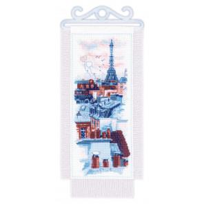 Крыши Парижа Набор для вышивания Риолис 1952