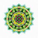 Мандала Самопознание Набор для вышивания Риолис 1964