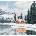 Озеро Луиз Набор для вышивания Овен 1295