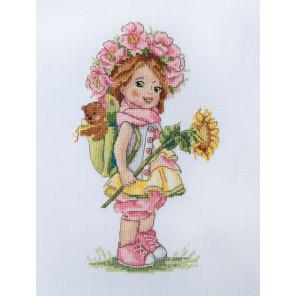 Летняя девочка Набор для вышивания Merejka K-110