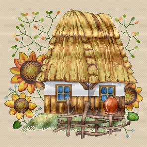 Каждой молодушечке - дом, сундук и кошечку Набор для вышивания Merejka K-10