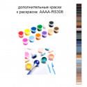 Дополнительные краски для раскраски AAAA-RS308