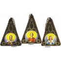Пирамидка Набор для вышивания бисером Вышиваем бисером L-154