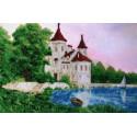 Белый замок Набор для вышивания бисером FeDi КВ642