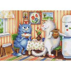В гостях Алмазная вышивка мозаика Brilliart МС-069