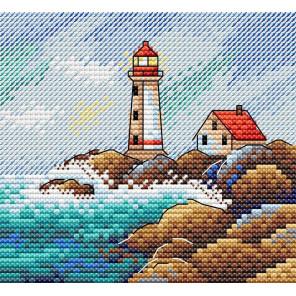 Морской пейзаж Набор для вышивания крестом МП-Студия М-624