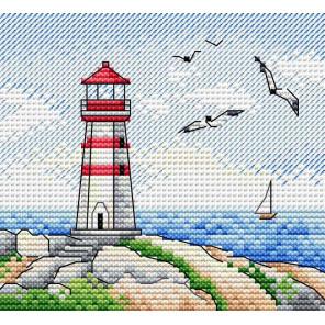Морские просторы Набор для вышивания крестом МП-Студия М-625