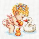 Любимые утята Набор для вышивания Многоцветница МКН 50-14