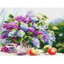 Сиреневый натюрморт Набор для вышивания Многоцветница МКН 56-14