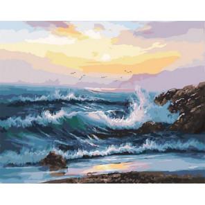 Мелодия океана Раскраска картина по номерам на холсте PK11443