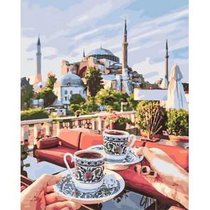 Чаепитие по-восточному Раскраска картина по номерам на холсте GX40189