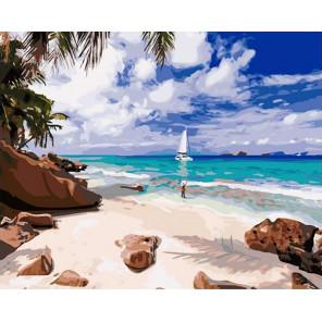 Остров мечты Раскраска картина по номерам на холсте GX40165