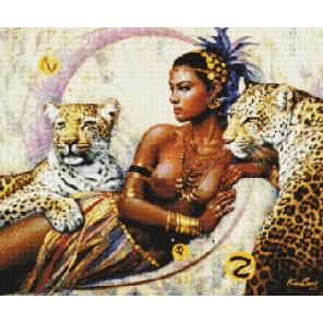 Египетская принцесса Алмазная вышивка (мозаика) Sddi Anya