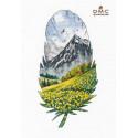Горный пейзаж-1 Набор для вышивания Овен 1401
