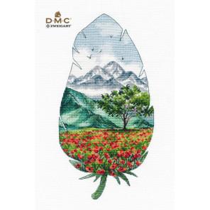 Горный пейзаж-3 Набор для вышивания Овен 1416