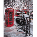 Лондон Раскраска картина по номерам на холсте Color Kit CG2054