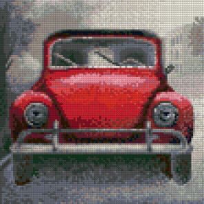 Машина Алмазная вышивка мозаика Color kit DF1002