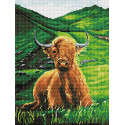 Коровка Алмазная вышивка мозаика Color kit DKD1007