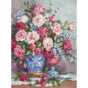 Её Величество - роза Набор для вышивания LUCA-S G605