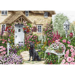 Коттеджный сад Набор для вышивания LUCA-S B2377