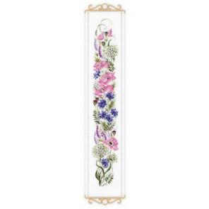 Цветочное ассорти Набор для вышивания Риолис 1866
