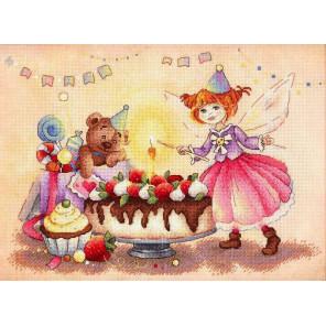 Задорный День рождения Набор для вышивания МП Студия РК-702