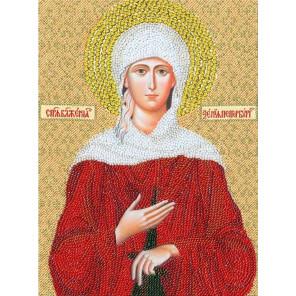 Образ Святой блаженной Ксении Петербургской Набор для вышивания бисером Золотое Руно РТ-072