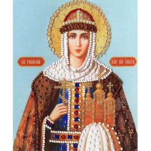 Икона Святой Равноапостольной Княгини Ольги Набор для вышивания бисером Золотое Руно РТ-127