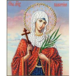 Икона Святой Мученицы Валентины Набор для вышивания бисером Золотое Руно РТ-140