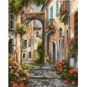 Старинный переулок Раскраска картина по номерам Schipper (Германия) 9240826