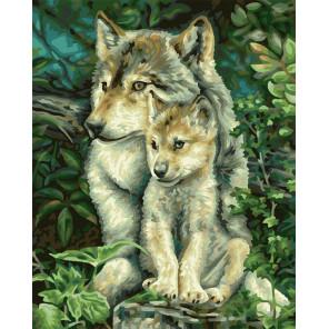 Мама-волчица Раскраска картина по номерам Schipper (Германия) 9240838