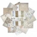 Муаровый мираж Набор бумаги 30,5х30,5 см для скрапбукинга, кардмейкинга Белоснежка 068-SB