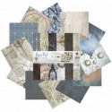 Теплые сумерки Набор бумаги 30,5х30,5 см для скрапбукинга, кардмейкинга Белоснежка 069-SB