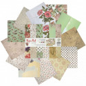 Арабеска Набор бумаги 30,5х30,5 см для скрапбукинга, кардмейкинга Белоснежка 070-SB