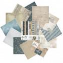 Морское путешествие Набор бумаги 25,5х25,5 см для скрапбукинга, кардмейкинга Белоснежка 075-SB
