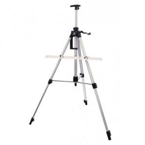 Серебро Мольберт телескопический тренога с перекладиной Белоснежка 75-BS