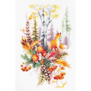 Дух осеннего леса Набор для вышивания Чудесная игла 200-018