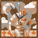 Часы Свидание на крыше Набор для творчества Котеин KD0213
