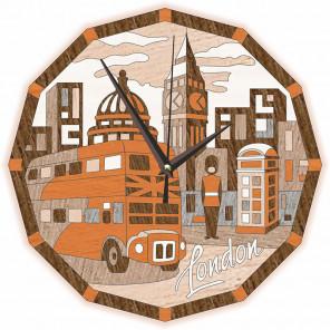 Часы Лондонские зарисовки Набор для творчества Котеин KD0215