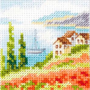 Маки у моря Набор для вышивания Алиса 0-199