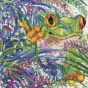 Древесные лягушки Набор для вышивания Design works 3267