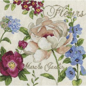 Мартовский сад Набор для вышивания Design works 2849