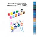Дополнительные краски для раскраски 30х40 см AAAA-RS237