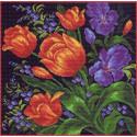 Тюльпаны Набор для вышивания Матренин Посад 1098-Н