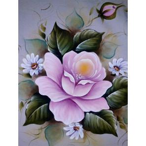 Винтажная роза Алмазная частичная вышивка (мозаика) Molly KM0935