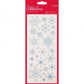Снежинки Create Christmas Стикеры для скрапбукинга, кардмейкинга Docrafts
